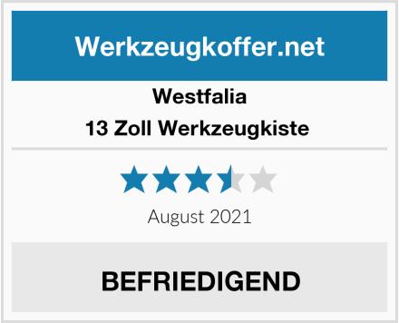 Westfalia 13 Zoll Werkzeugkiste  Test