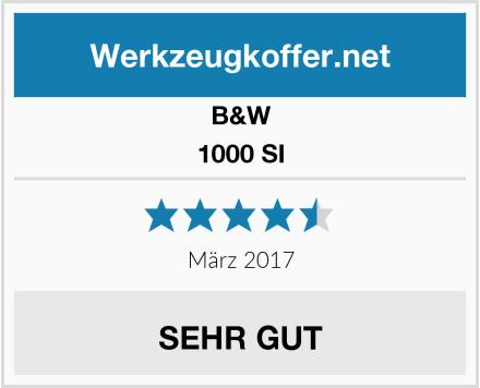 B&W 1000 SI Test