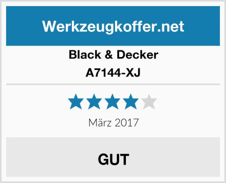 Black & Decker A7144-XJ Test