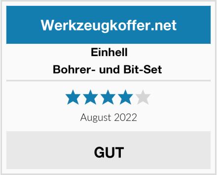 Einhell Bohrer- und Bit-Set  Test