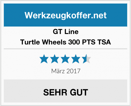 GT Line Turtle Wheels 300 PTS TSA Test