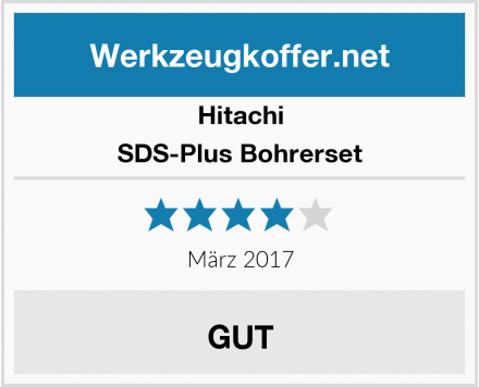 Hitachi SDS-Plus Bohrerset Test