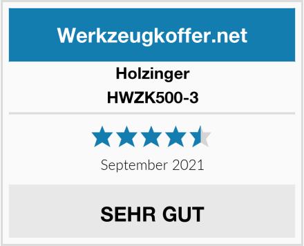 Holzinger HWZK500-3 Test