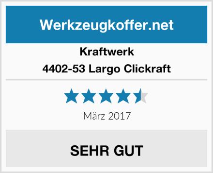 Kraftwerk 4402-53 Largo Clickraft Test
