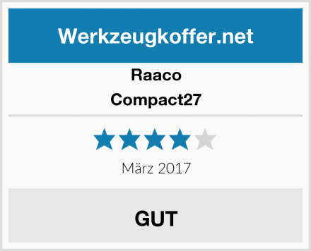 Raaco Compact27 Test