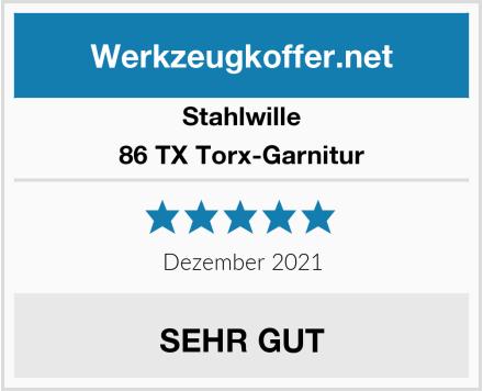 Stahlwille 86 TX Torx-Garnitur Test