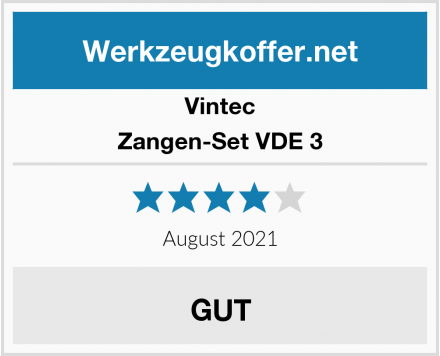 Vintec Zangen-Set VDE 3 Test