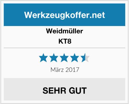 Weidmüller KT8 Test