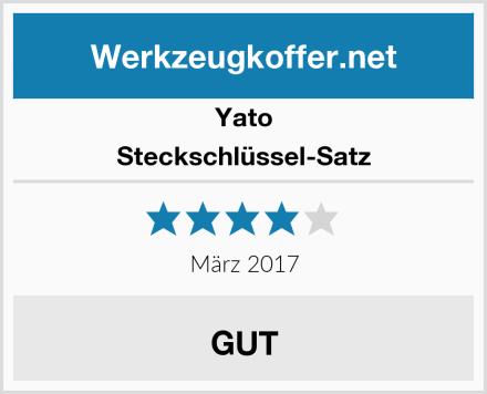 Yato Steckschlüssel-Satz Test