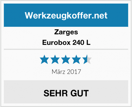 Zarges Eurobox 240 L Test