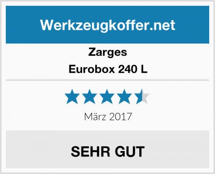 Zarges Eurobox 240 L Test