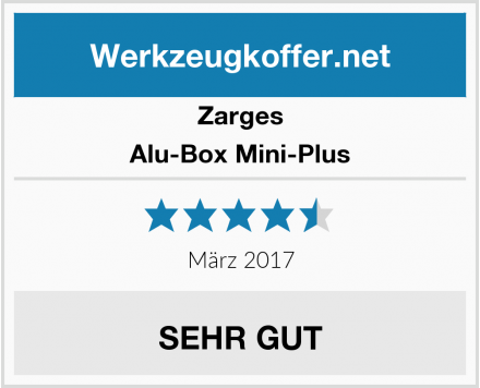 Zarges Alu-Box Mini-Plus Test