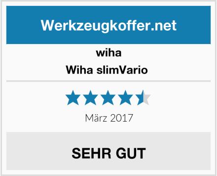 wiha Wiha slimVario  Test