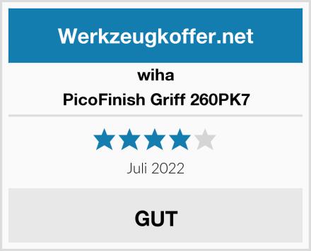 wiha PicoFinish Griff 260PK7 Test