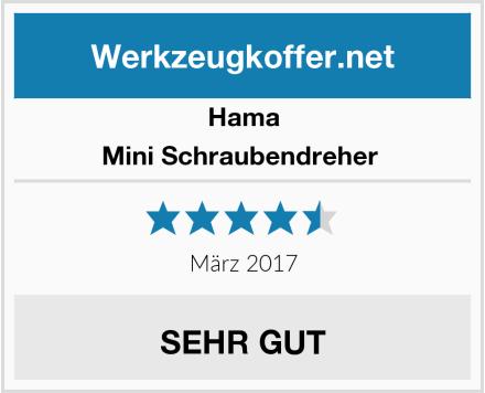 Hama Mini Schraubendreher  Test
