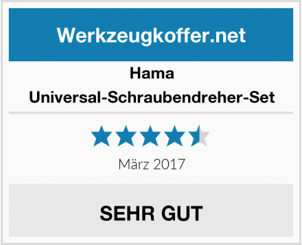 Hama Universal-Schraubendreher-Set Test