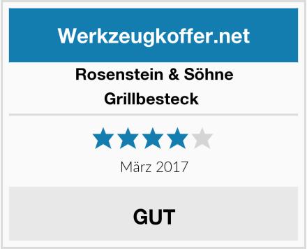 Rosenstein & Söhne Grillbesteck  Test