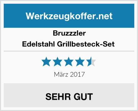 Bruzzzler Edelstahl Grillbesteck-Set  Test