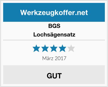 BGS Lochsägensatz Test