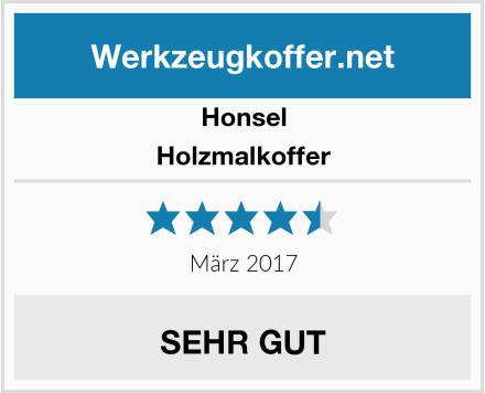 Honsel Holzmalkoffer Test