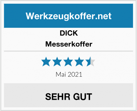 DICK Messerkoffer Test