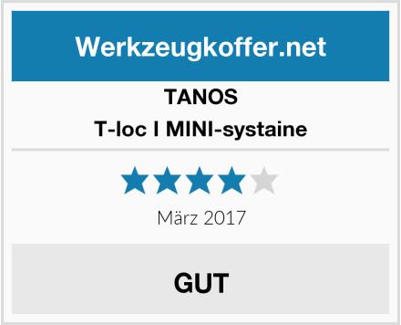 TANOS T-loc I MINI-systaine Test