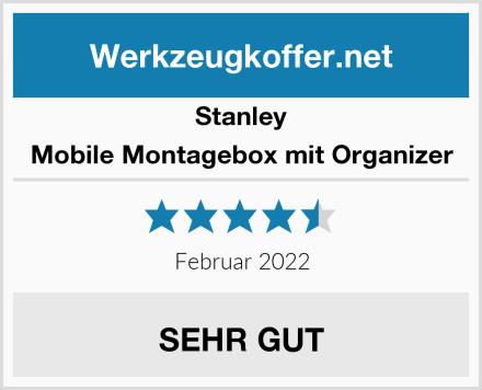 Stanley Mobile Montagebox mit Organizer Test