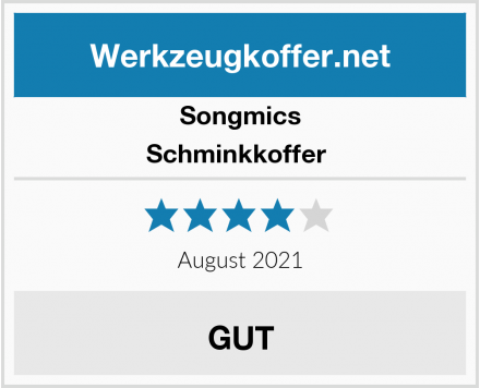 Songmics Schminkkoffer  Test
