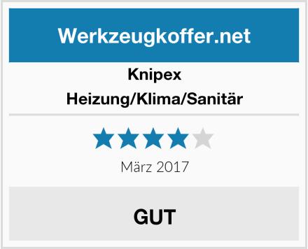 Knipex Heizung/Klima/Sanitär Test