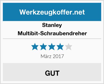Stanley Multibit-Schraubendreher Test