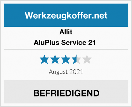 Allit AluPlus Service 21  Test