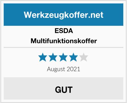 ESDA Multifunktionskoffer Test