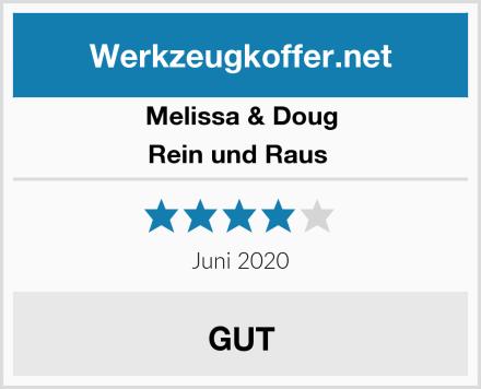 Melissa & Doug Rein und Raus  Test