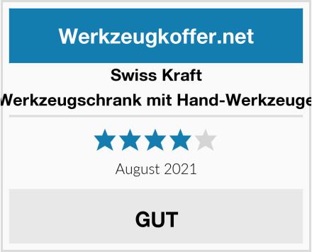 Swiss Kraft Werkzeugschrank mit Hand-Werkzeuge Test