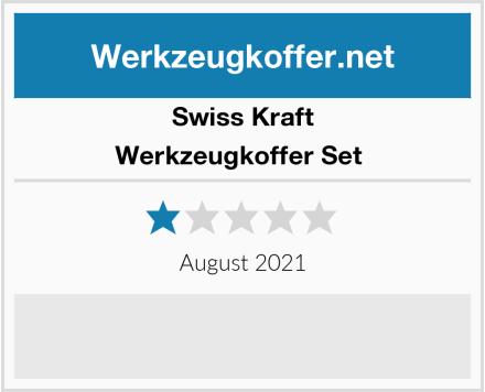 Swiss Kraft Werkzeugkoffer Set  Test