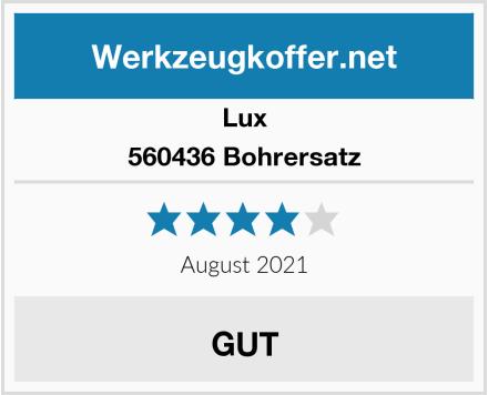 Lux 560436 Bohrersatz Test