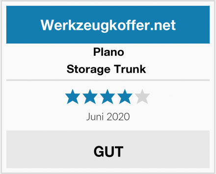 Plano Storage Trunk  Test