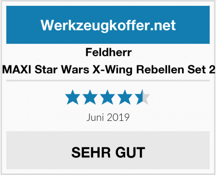 Feldherr MAXI Star Wars X-Wing Rebellen Set 2 Test