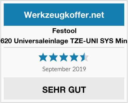 Festool 499620 Universaleinlage TZE-UNI SYS Mini TL Test
