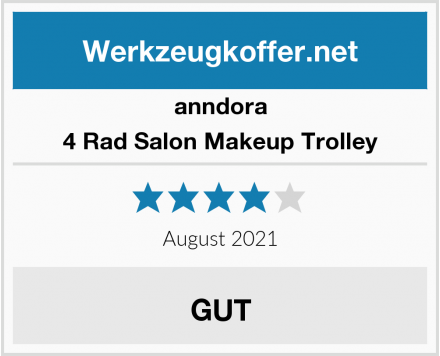 No Name anndora 4 Rad Salon Makeup Trolley Test