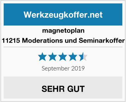 magnetoplan 11215 Moderations und Seminarkoffer Test