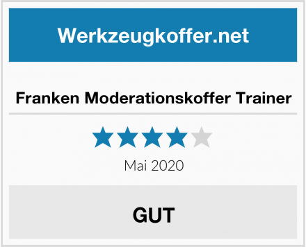 Franken Moderationskoffer Trainer Test