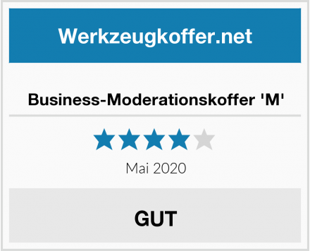 No Name Business-Moderationskoffer 'M' Test