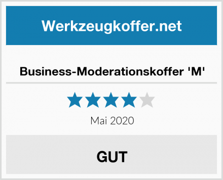 Business-Moderationskoffer 'M' Test