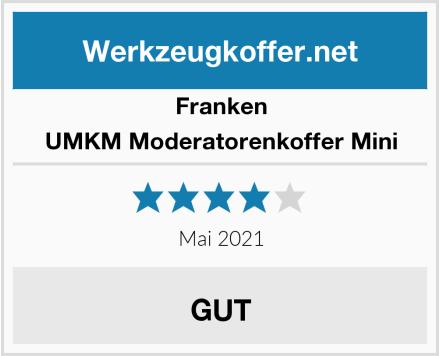 Franken UMKM Moderatorenkoffer Mini Test
