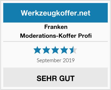 Franken Moderations-Koffer Profi Test