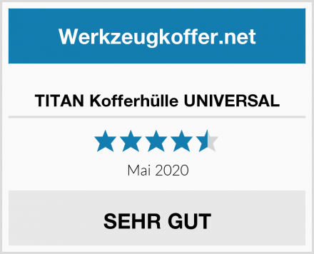 TITAN Kofferhülle UNIVERSAL Test