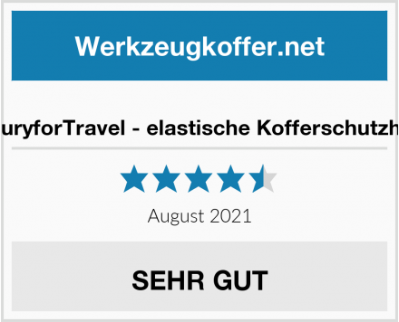 LuxuryforTravel - elastische Kofferschutzhülle Test
