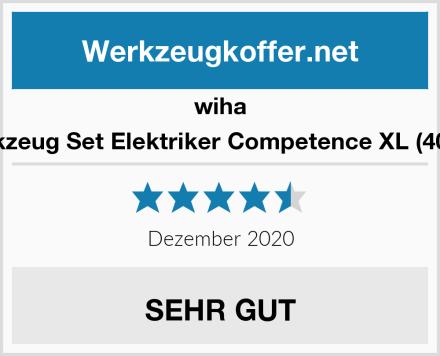 wiha Werkzeug Set Elektriker Competence XL (40523) Test