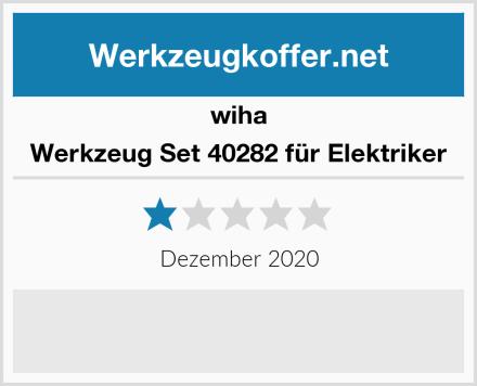 wiha Werkzeug Set 40282 für Elektriker Test
